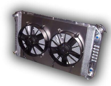 1968 - 1977 Chevelle Aluminum Radiator Dual Fans