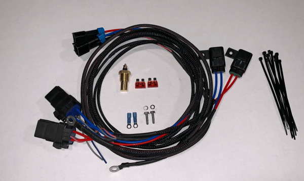Dual HD Electric Cooling Fan Harness Kit